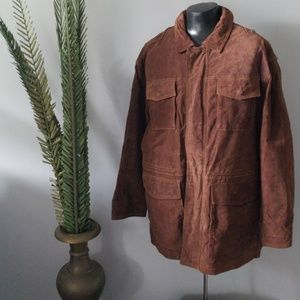 Wilsons Leather brown coat by M. Julian NWT